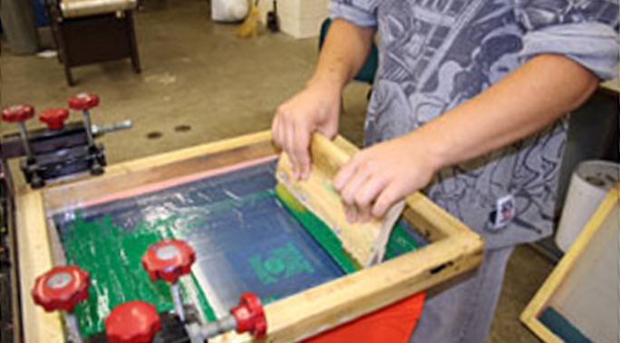 Student Screen Printing